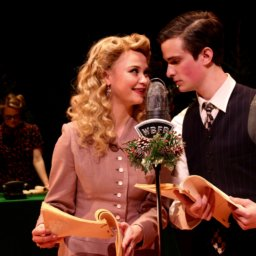 Annebelle Bradstreet and TJ Vinsavich in IT'S A WONDERFUL LIFE: A LIVE RADIO PLAY, Directed by Alex Burkart